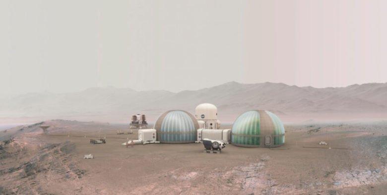Mars : des terreaux pour expérimenter une agriculture extraterrestre