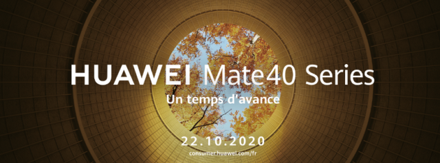 sans titre 1 640x237 - The Huawei Mate 40 Pro will be presented on October 22! - Geek diary
