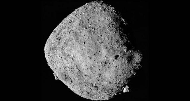 L'astéroïde Bennu (Crédits : NASA).