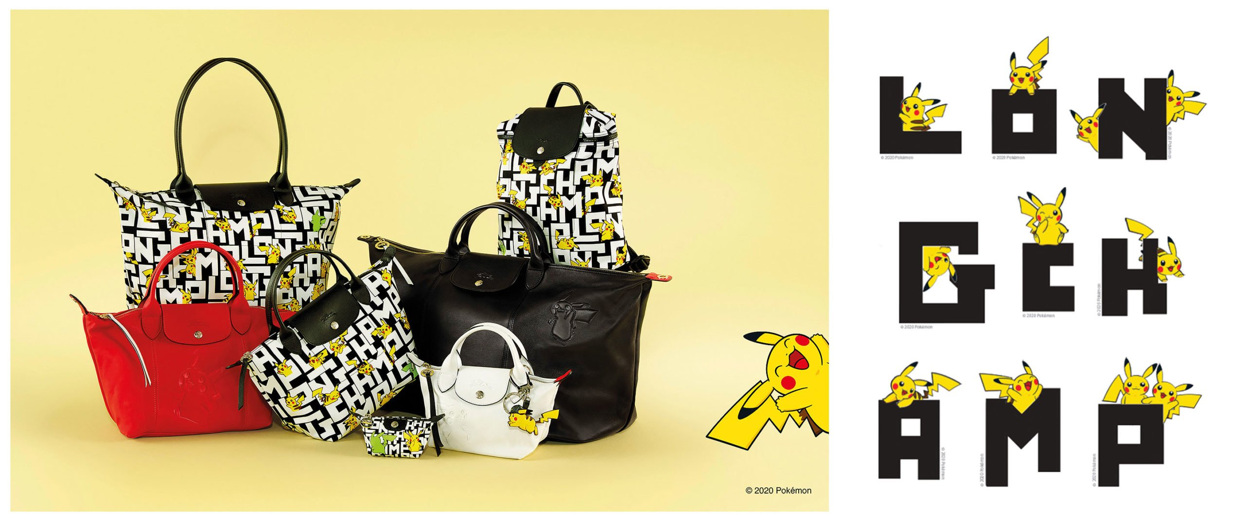 Longchamp dévoile une collection de sacs Pokémon   Journal du Geek
