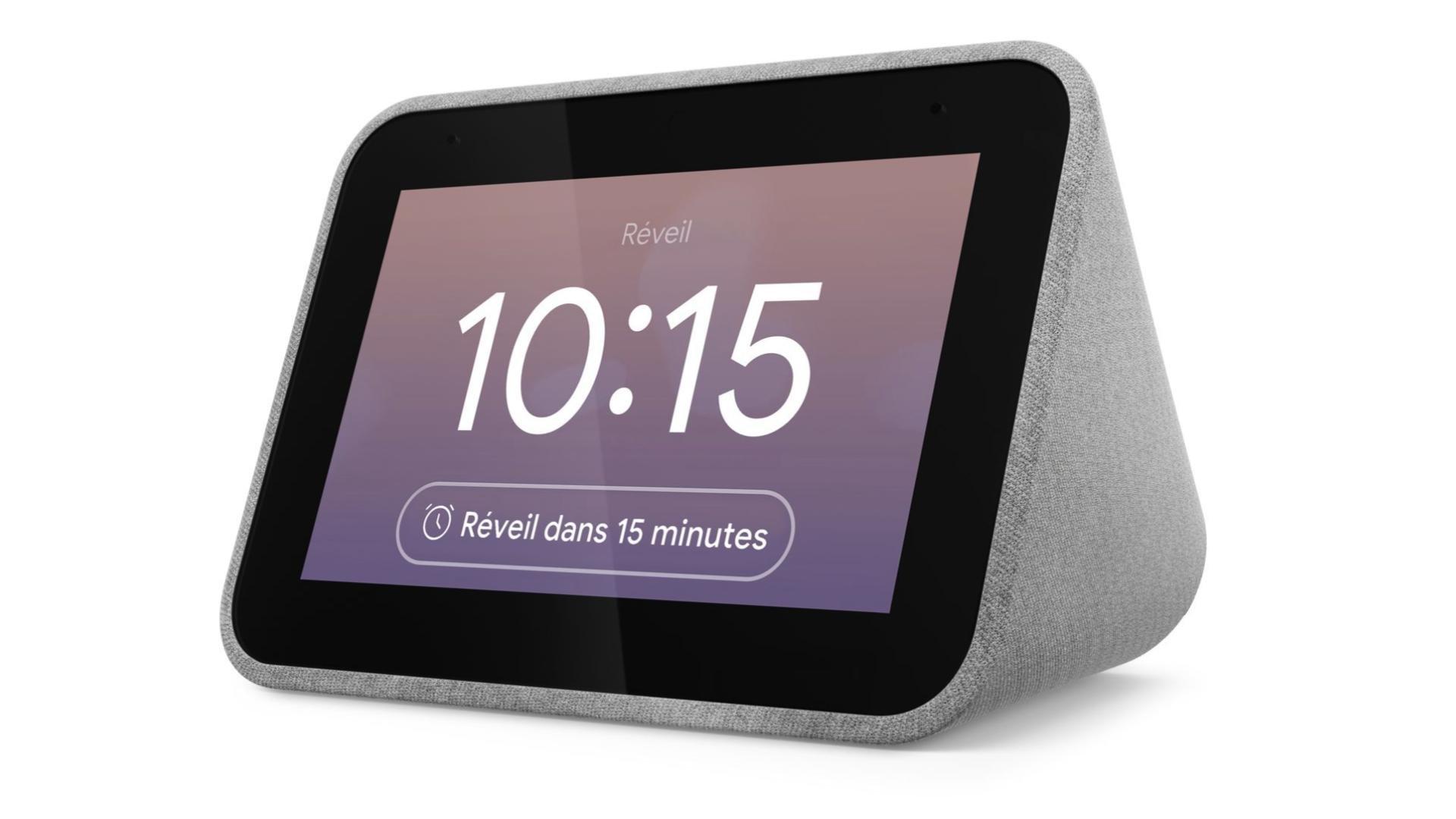 Réveil-malin : le Lenovo Smart Clock n'est qu'à 45 euros
