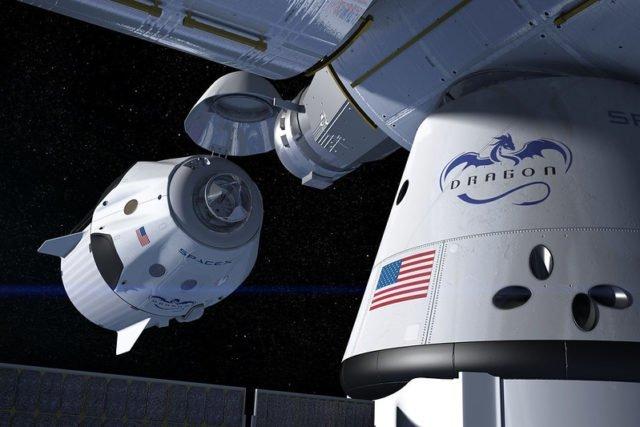 Crédits : SpaceX / NASA