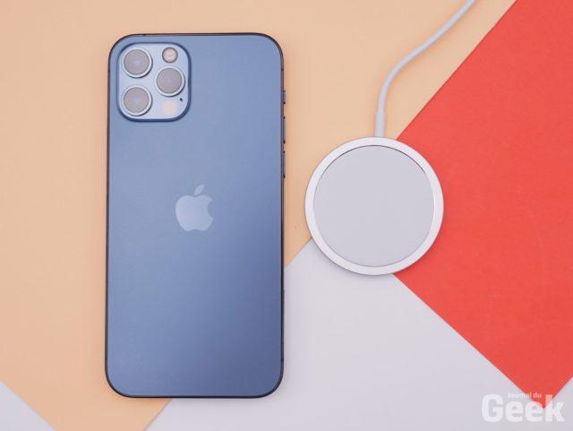 apple iphone12pro 18 live 640x481 - Apple recommends avoiding using an iPhone 12 near a pacemaker - Journal du geek