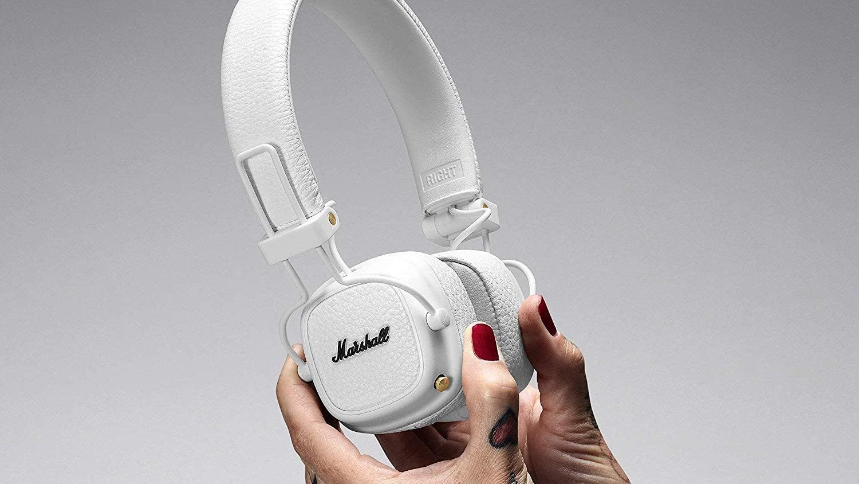 Le Marshall Major 3 Bluetooth est disponible en blanc sur plusieurs sites d'e-commerce.