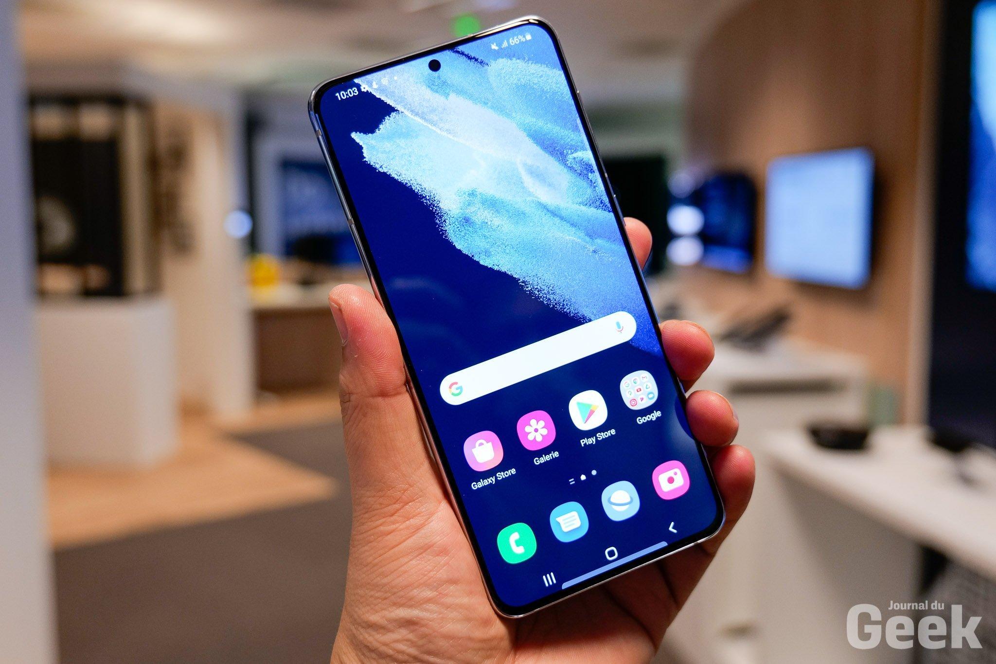 Le nouveau Samsung Galaxy S21 tombe déjà sous les 800 euros - Journal du geek