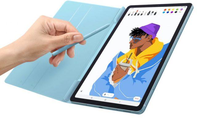 La Galaxy Tab S6 Lite. Crédit : Samsung