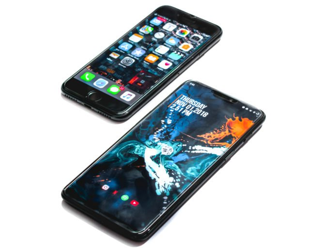 iphone android 640x512 - Why does Bill Gates prefer an Android smartphone to the iPhone?