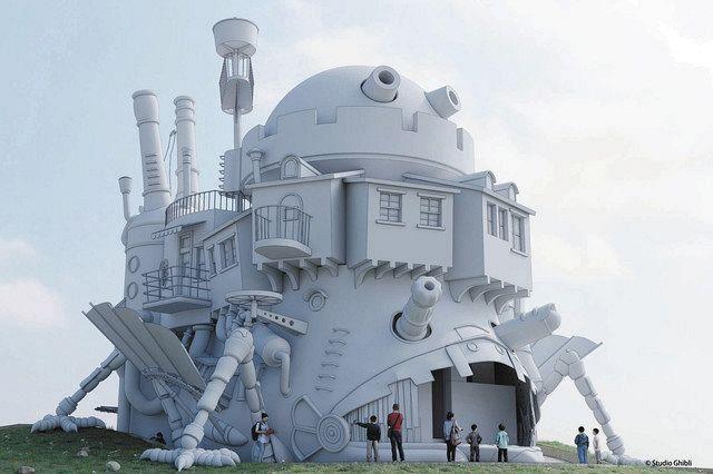 Découvrez les premières images du Parc Ghibli ! - Journal du geek