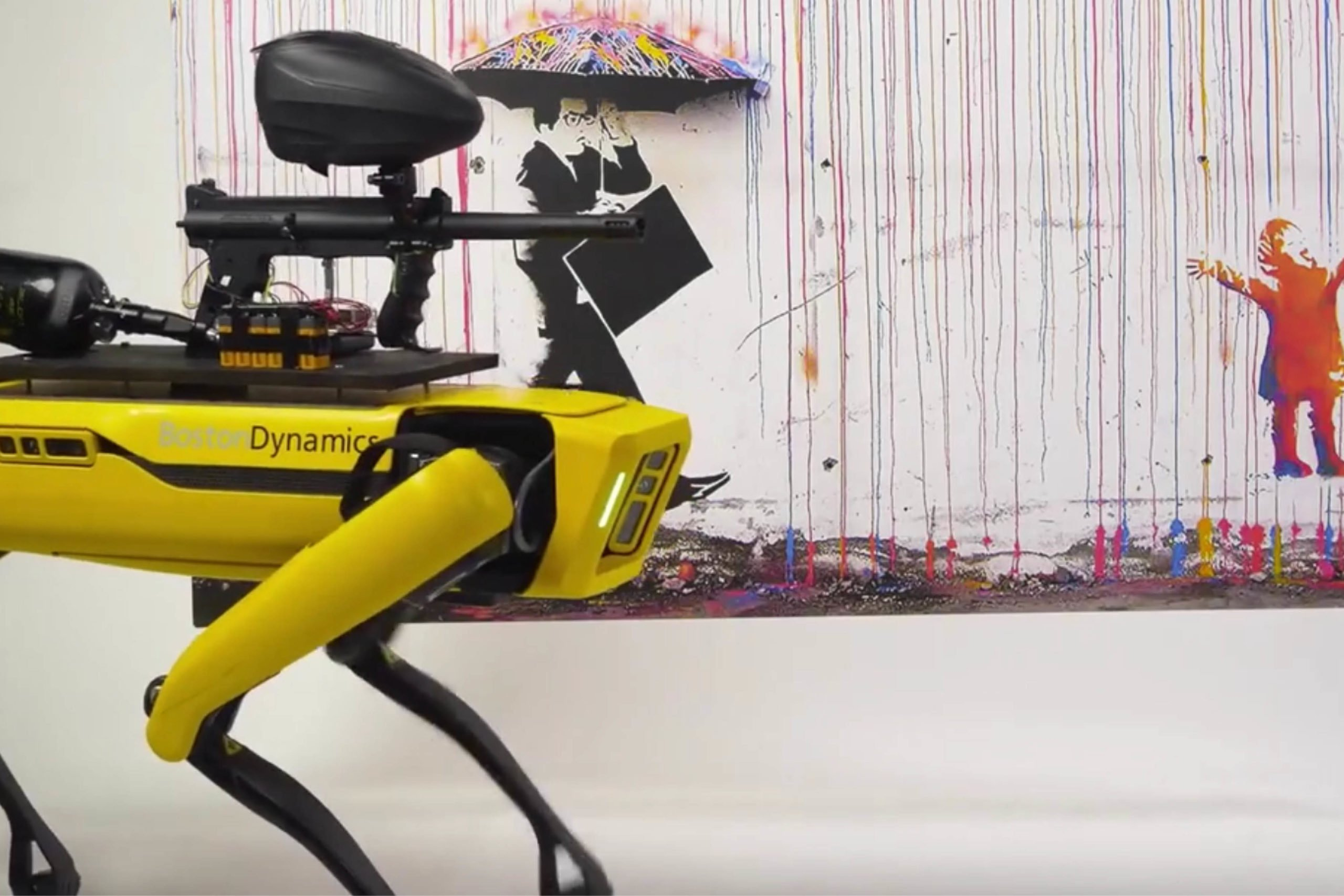 Le chien Boston Dynamics va s'armer, pour une expérience sociale - Journal du geek