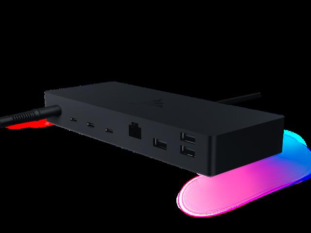 Razer dévoile un hub Thunderbolt 4 et un support pour laptop - Journal du geek