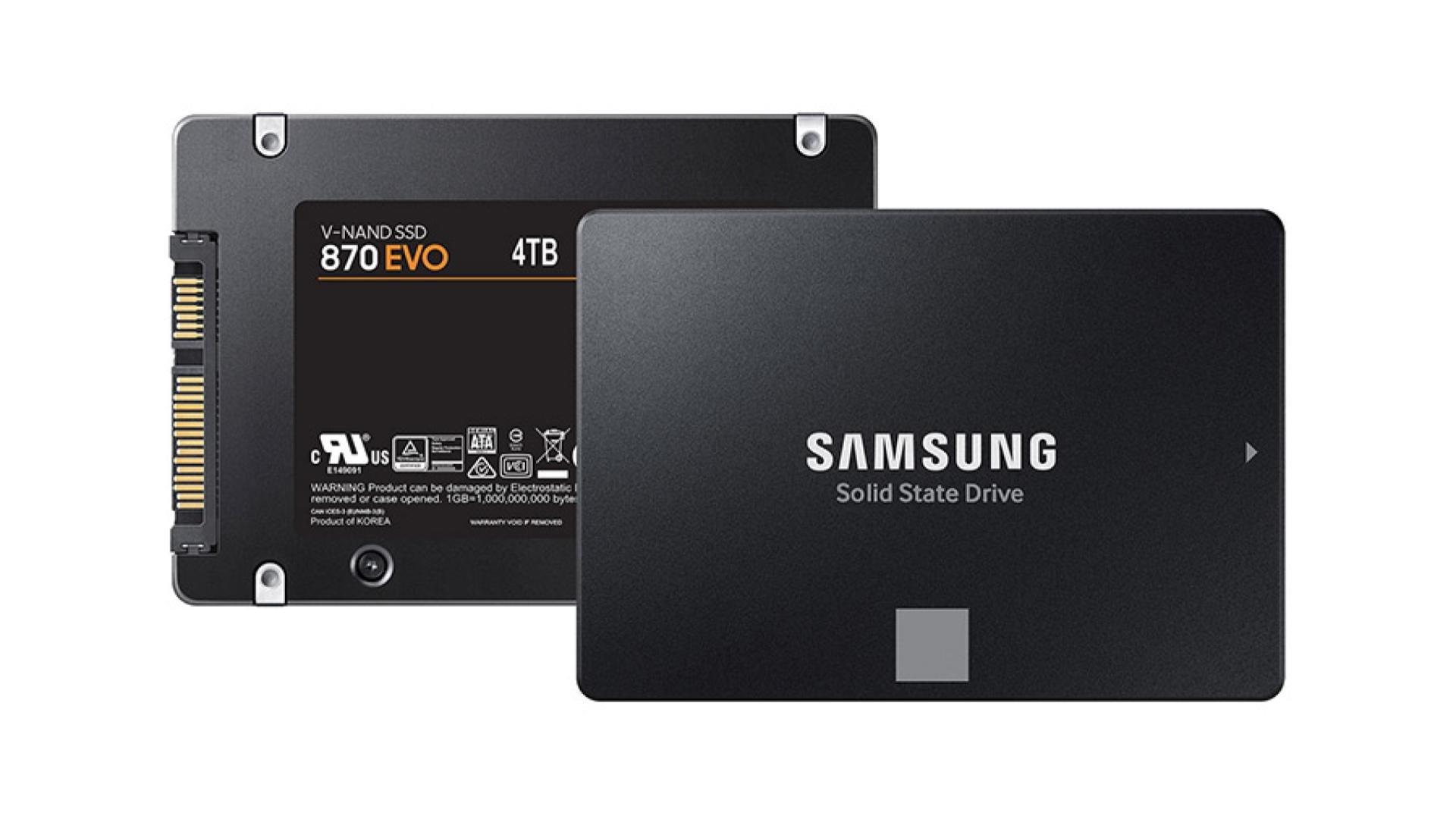 Le nouveau SSD Samsung 870 EVO 2 To déjà à prix cassé - Journal du geek