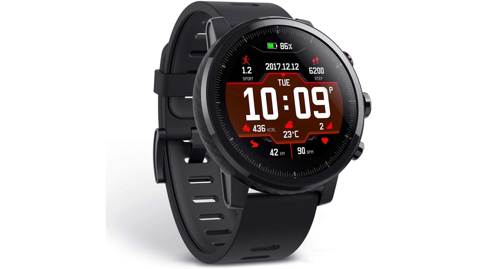 L'Amazfit Stratos est l'un des nombreuses montres connectées de la marque.