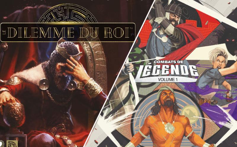 [Jeux de société] On a joué au Dilemme du Roi et Unmatched Vol.1 | Journal du Geek