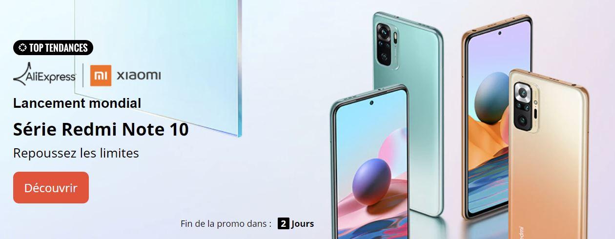 [Imbattable] La série Redmi Note 10 de Xiaomi est disponible à partir de 147 euros