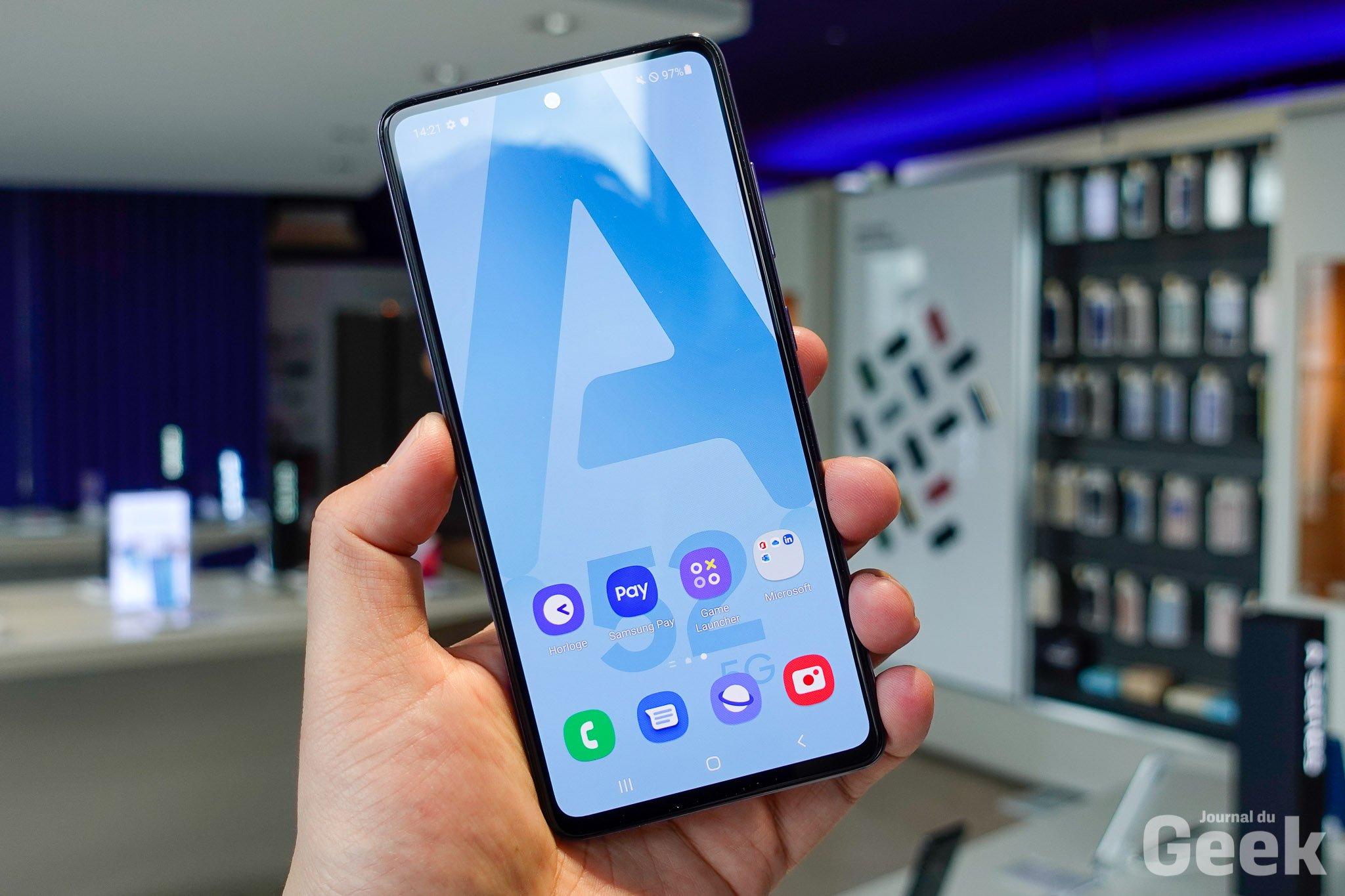 Le Galaxy A52 5G