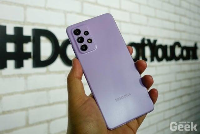[Prise en main] Samsung Galaxy A52, A52 5G et A72, les nouvelles références du milieu de gamme