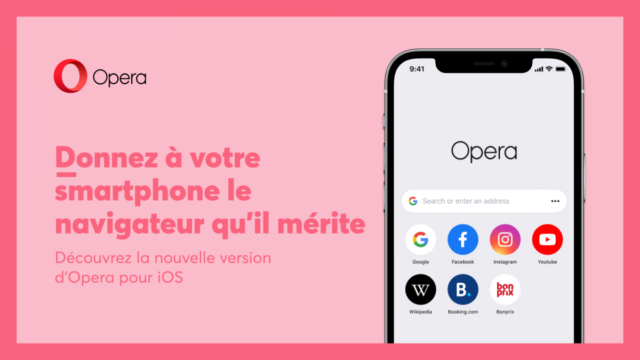 unnamed 3 2 640x360 - iPhone: Opera Touch changes name and interface on iOS - journal du geek