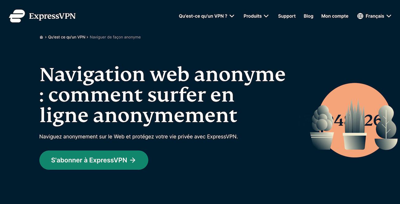 Anonyme ExpressVPN