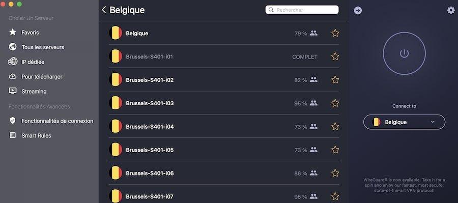 CyberGhost-Belgique