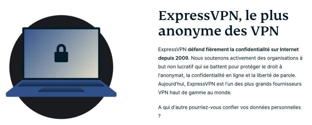 ExpressVPN-anonyme
