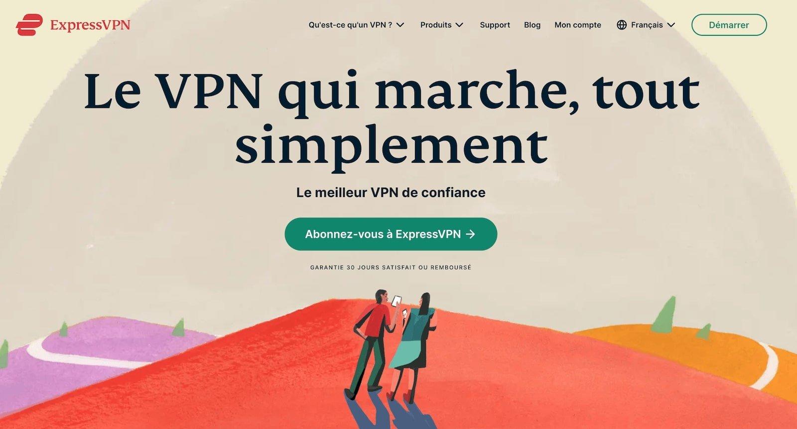ExpressVPN changer IP