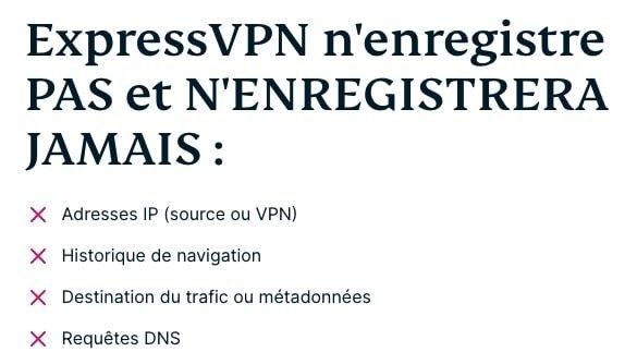 ExpressVPN-politique-log