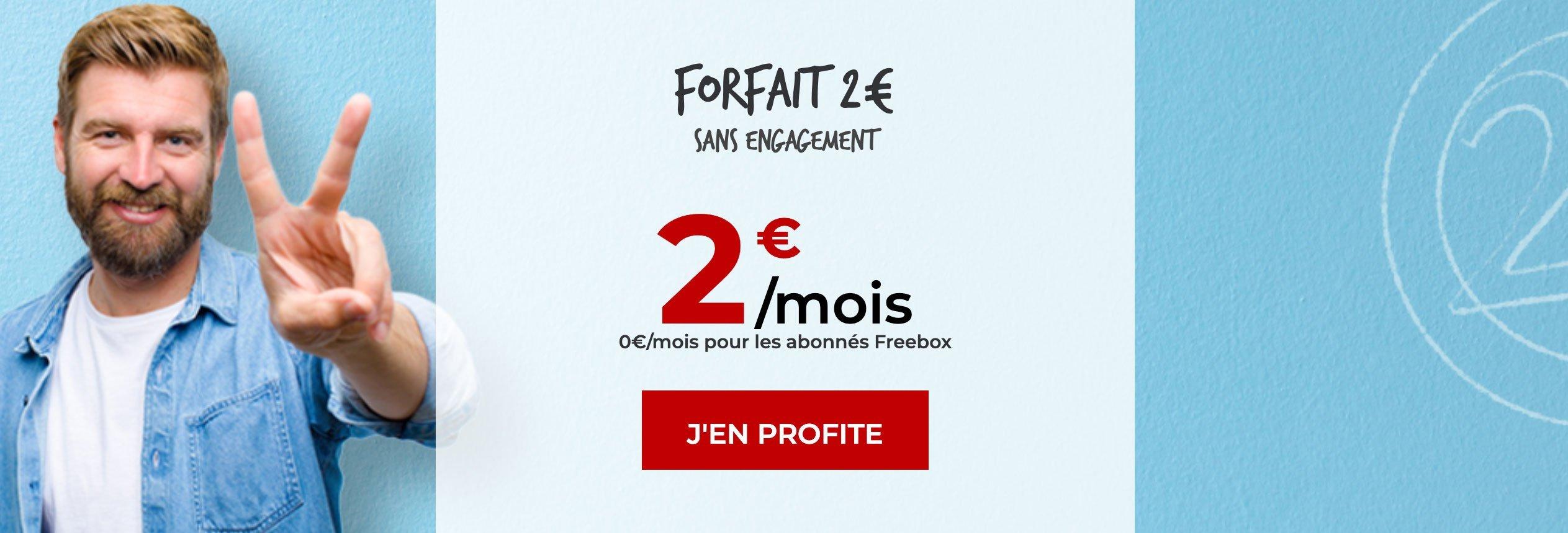Forfait gratuit Free
