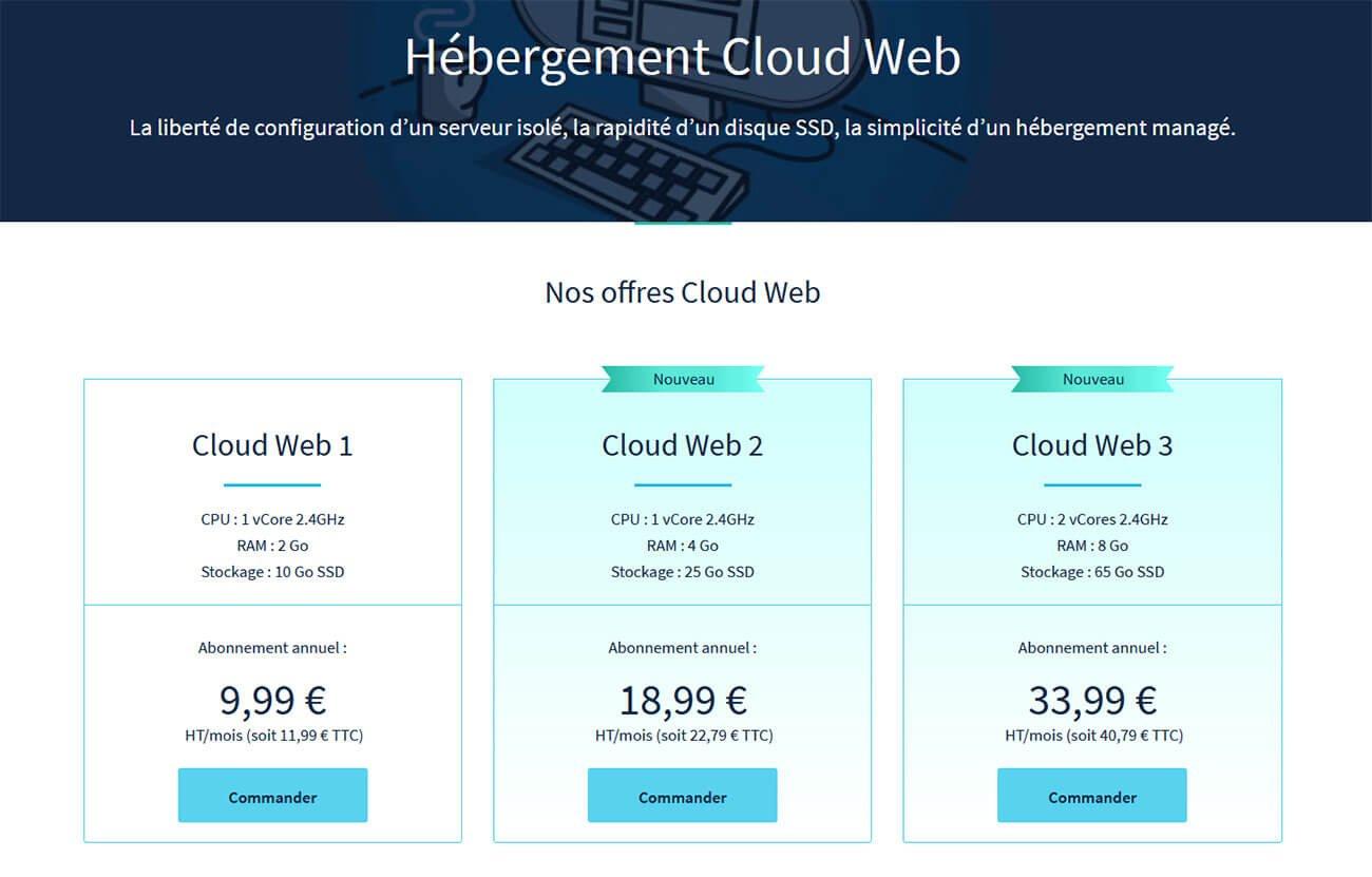 Hébergement Cloud OVH