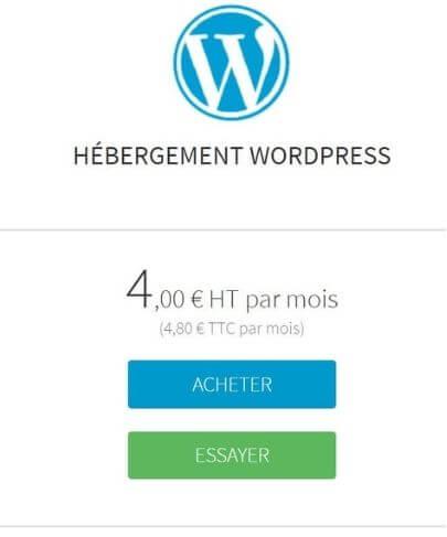 Hébergement pour WordPress Amen
