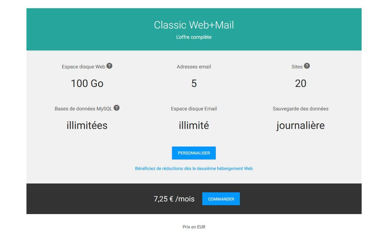 Hébergement Web Mail Infomaniak