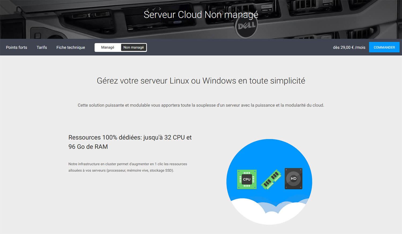 Hébergement web Windows Infomaniak