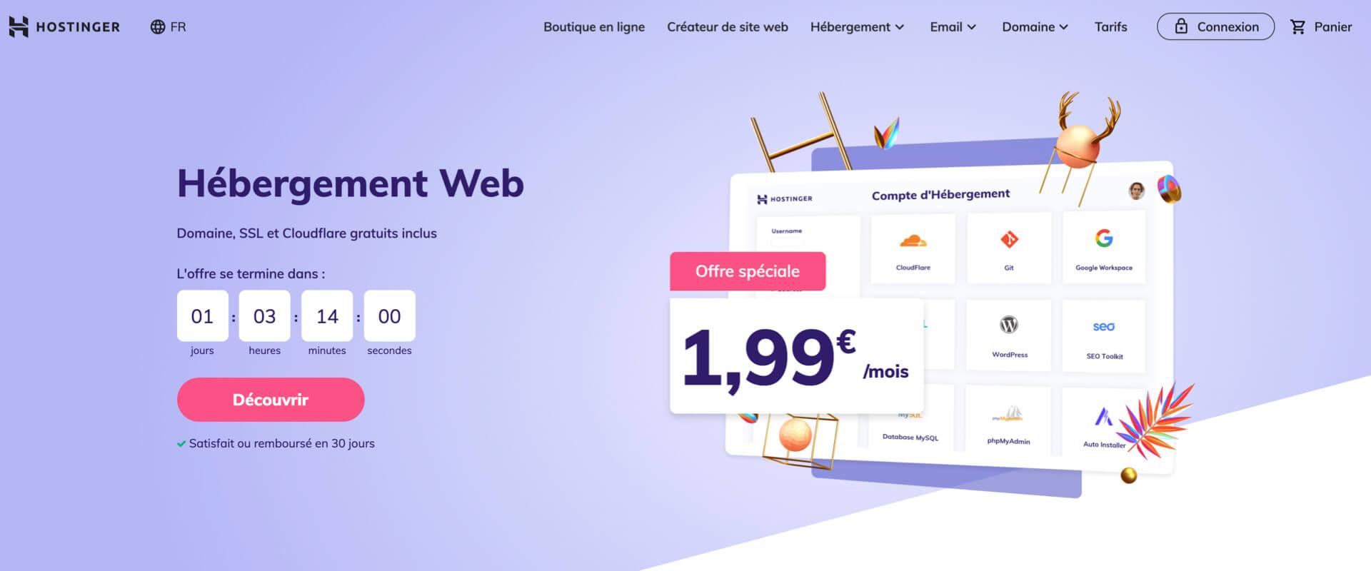 Hebergement web