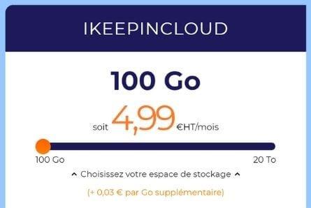 IKeepInCloud Ikoula