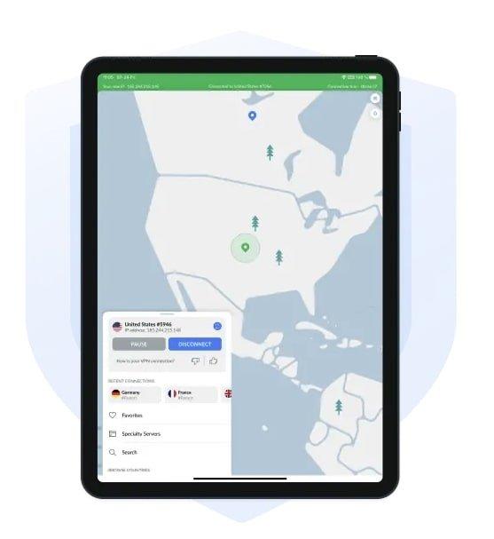 NordVPN-iPad