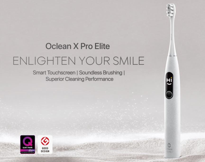 Bon Plan : la nouvelle brosse à dents sonique Oclean X Pro Elite va vous séduire avec son prix imbattable