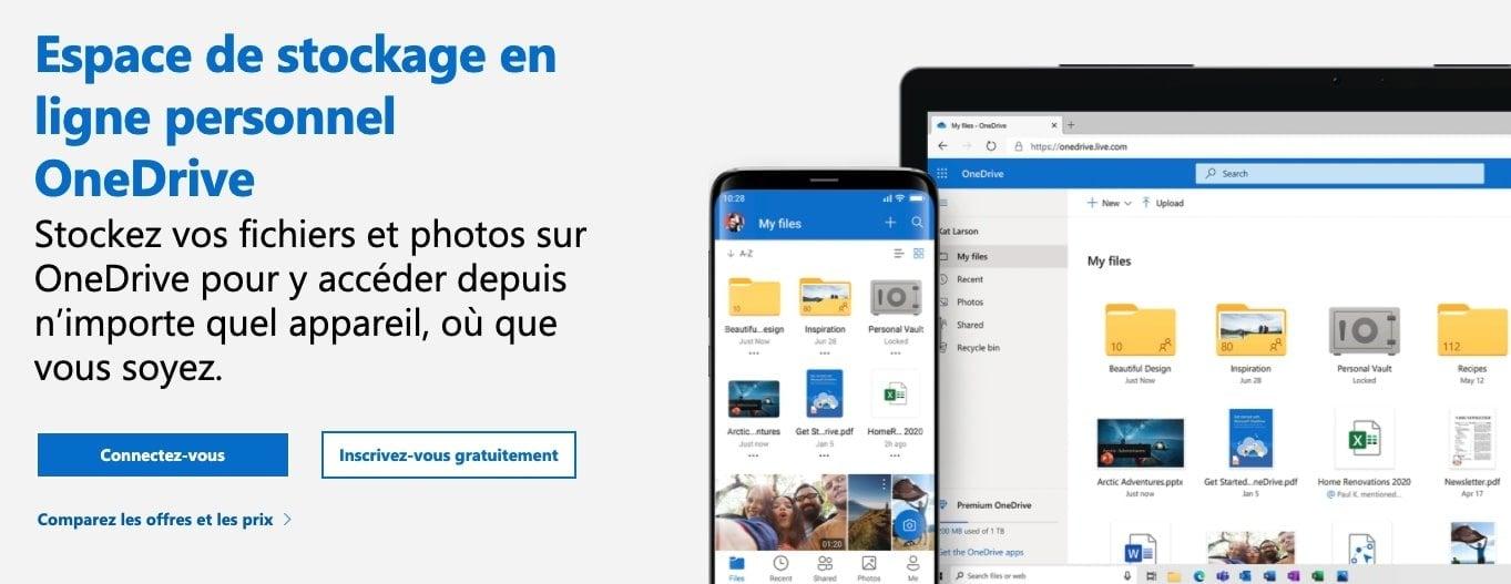 OneDrive-gratuit
