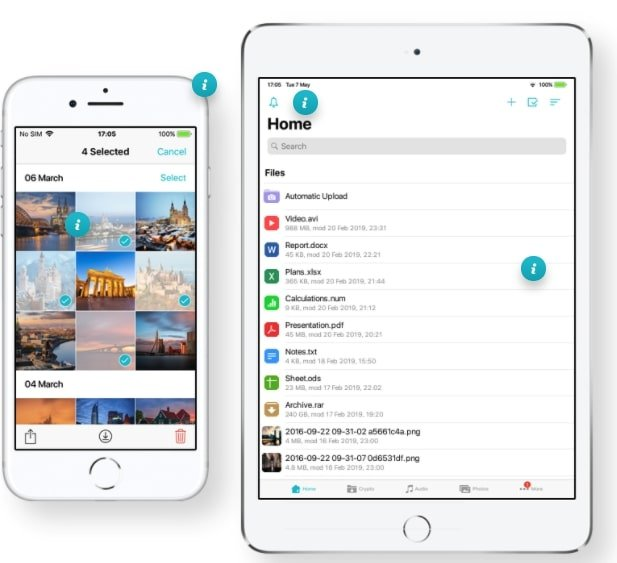 pCloud-application-iOS
