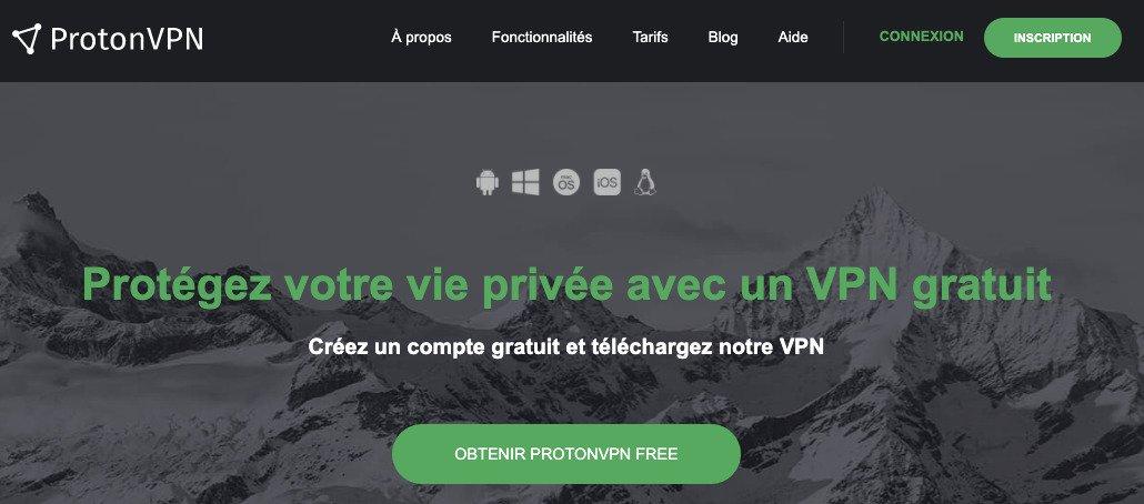 ProtonVPN-gratuit-Windows