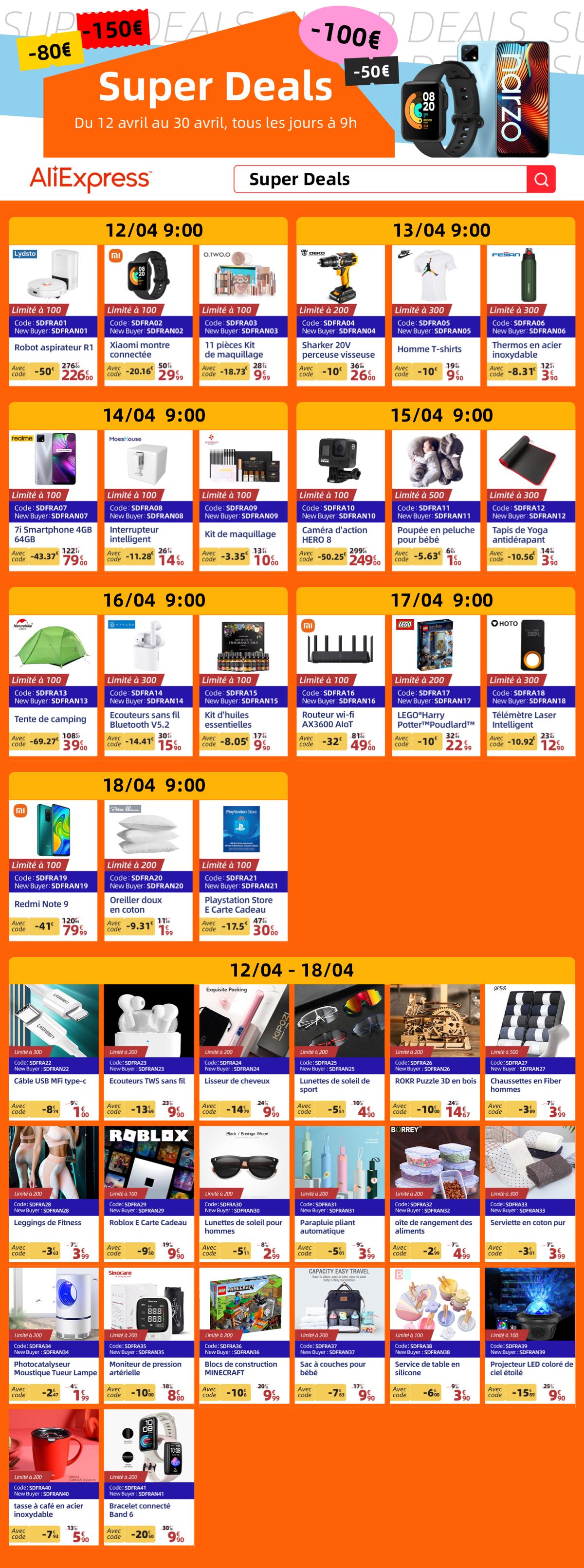 super deals - [Super Deals] The Xiaomi Redmi Note 9 drops to € 79.99 for a few hours
