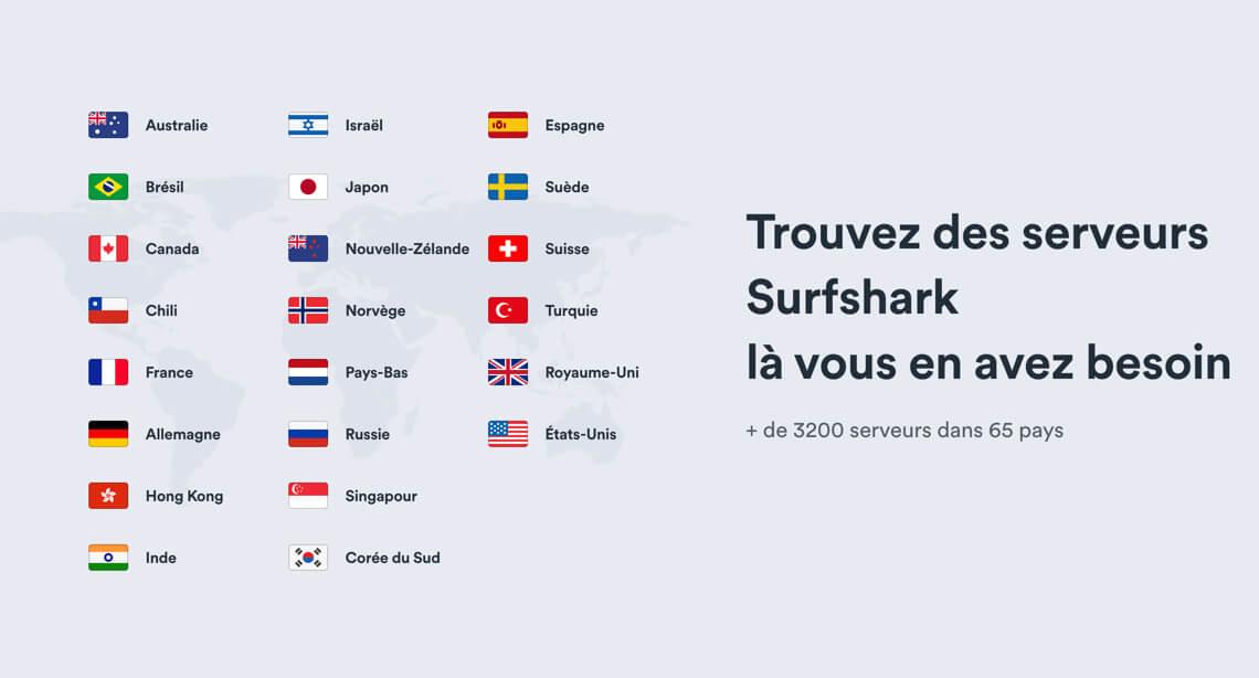 Surfshark VPN streaming