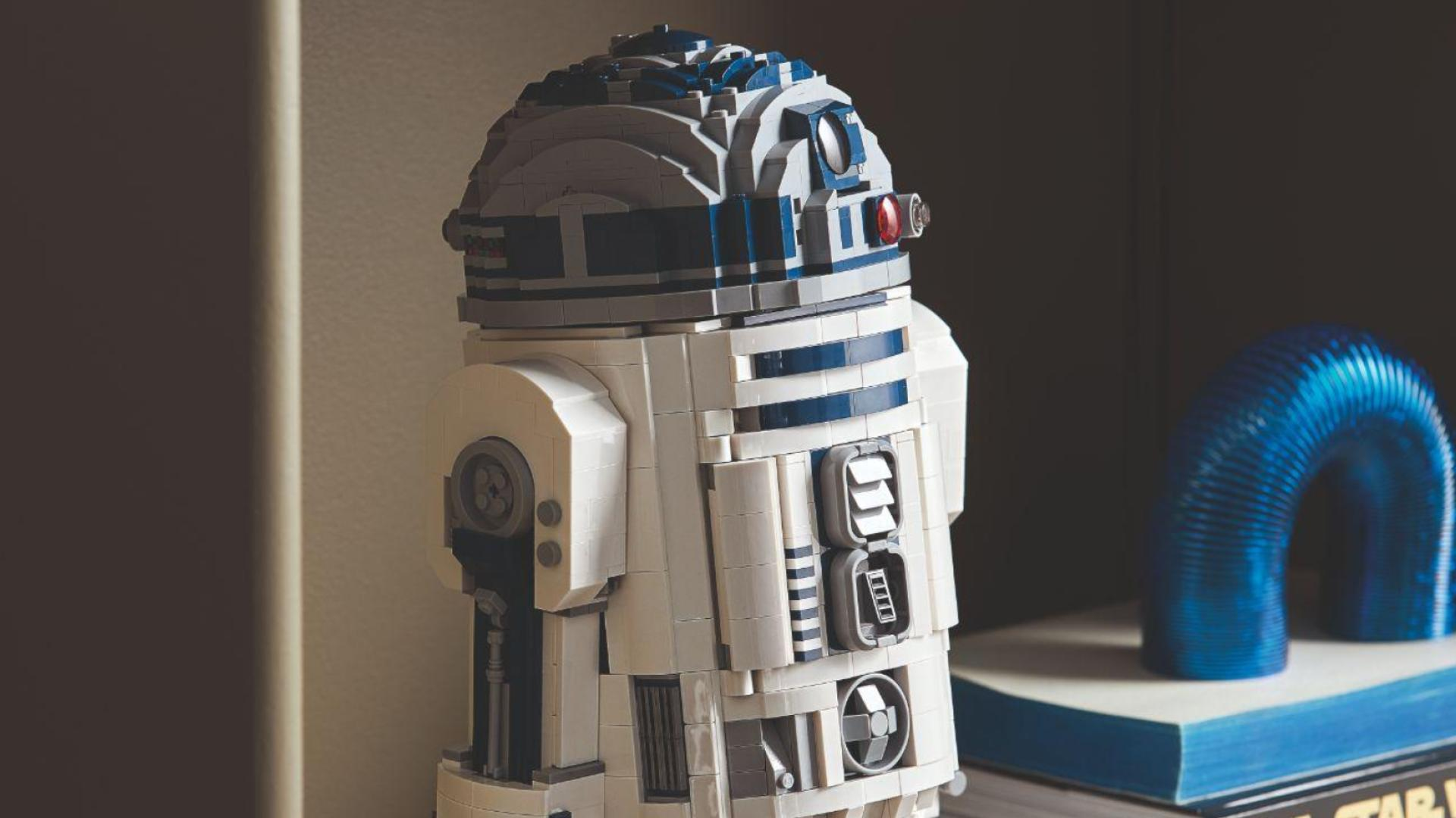 LEGO Star Wars dévoile une nouvelle figurine à l'effigie du droïde R2-D2