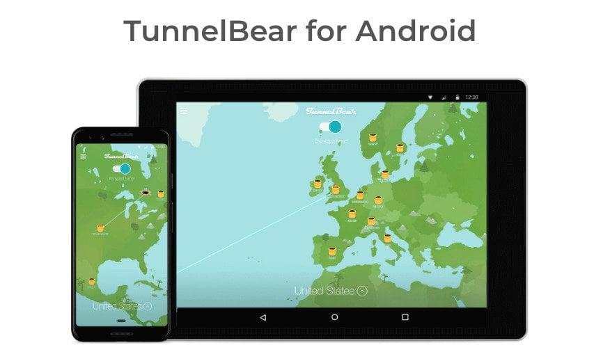 TunnelBear-gratuit-Android
