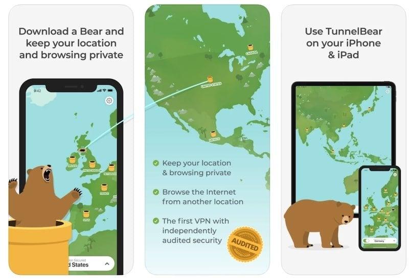 Tunnelbear-gratuit-iPad