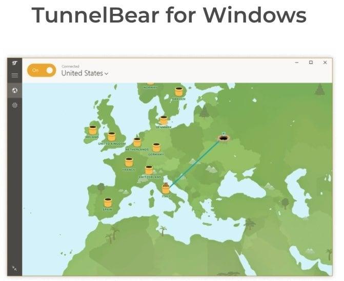 TunnelBear-gratuit-Windows