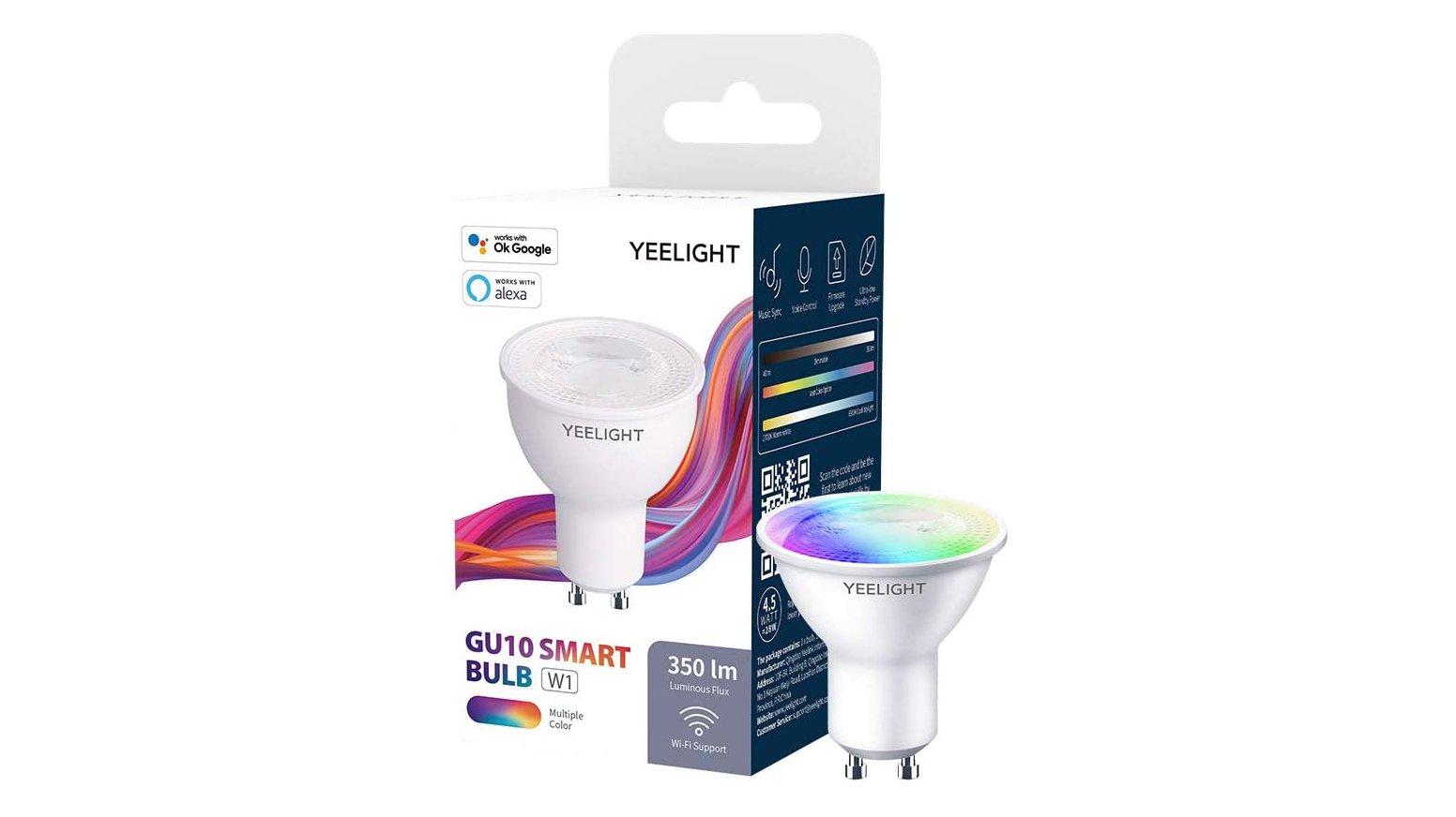 L'ampoule connectée Yeelight GU10 est en promotion sur Aliexpress.