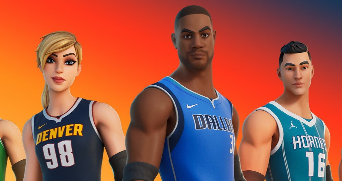 Fortnite NBA Collaboration Epic Games