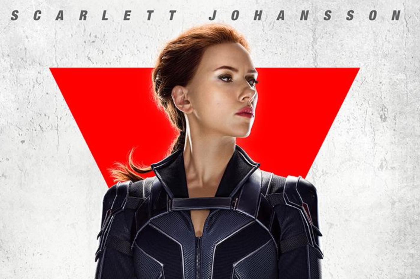 Black Widow Affiche Scarlett Johansson