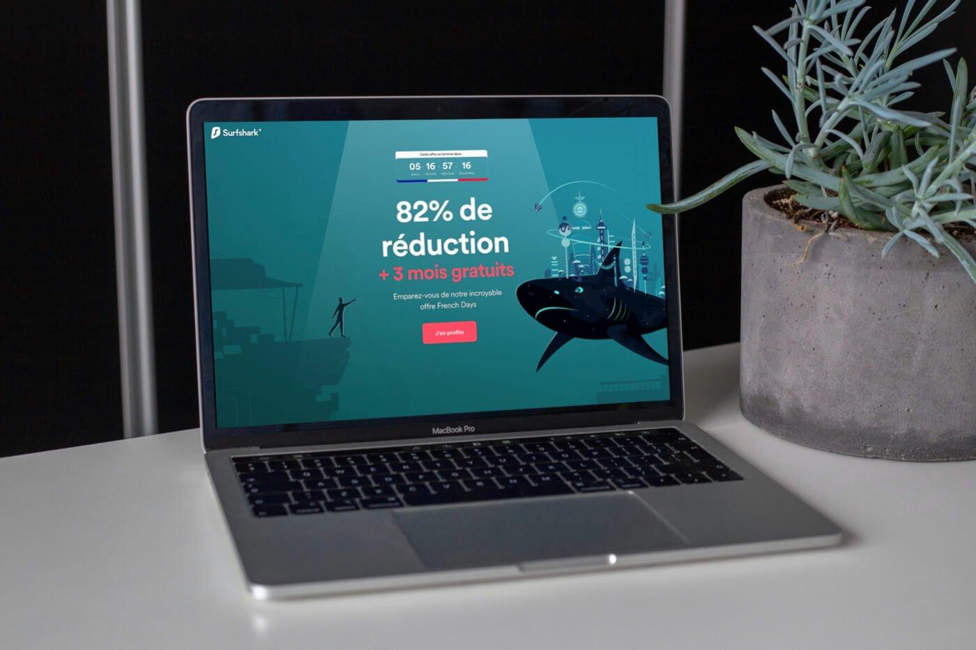 Bon plan Surfshark VPN French Days