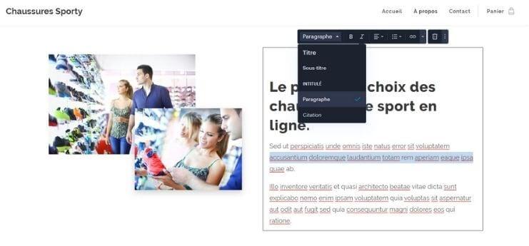 Editeur Webnode