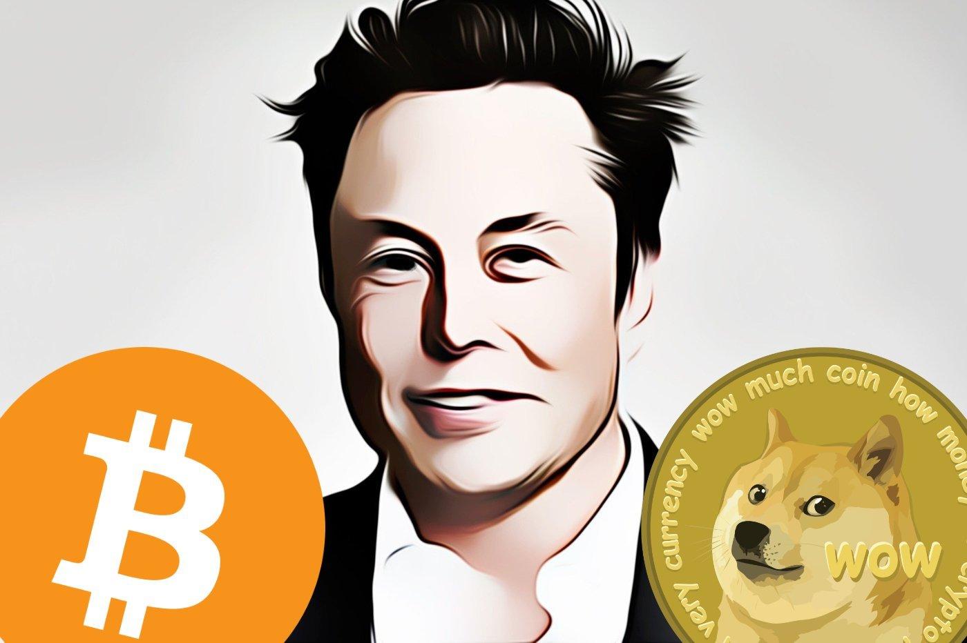 Elon Musk Bitcoin Dogecoin